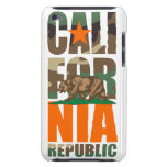 Safety Camouflage California Republic Flag Barely There iPod Case
