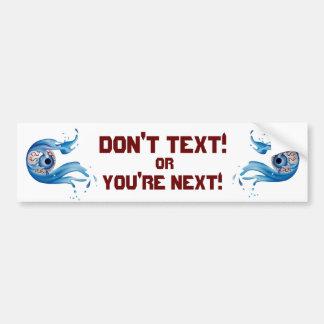 Safety Car Bumper Sticker