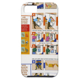 Safety card iPhone SE/5/5s case