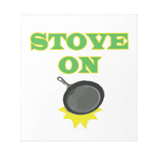 Safety Cooking Reminder Notepad