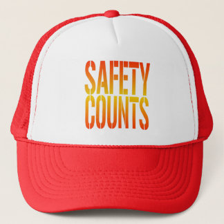 Safety Counts Trucker Hat