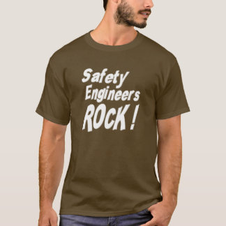 Safety Engineers Rock! T-shirt