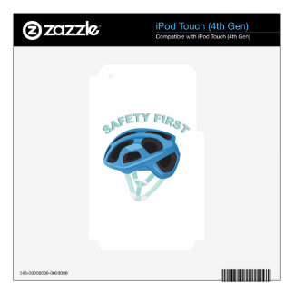 Safety First iPod Touch 4G Skins
