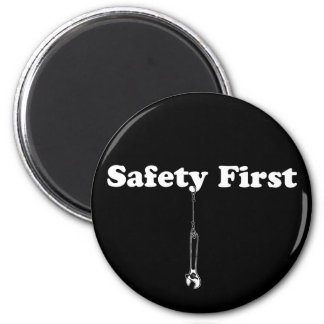 Safety First Fridge Magnets
