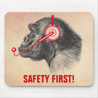 Safety First! Mouse Pad