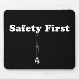 Safety First Mouse Pads