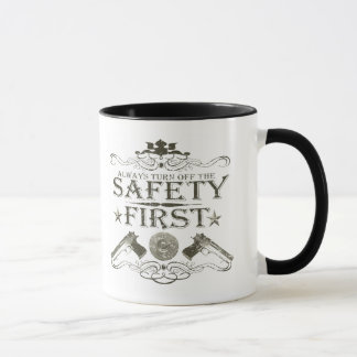 Safety First Mug