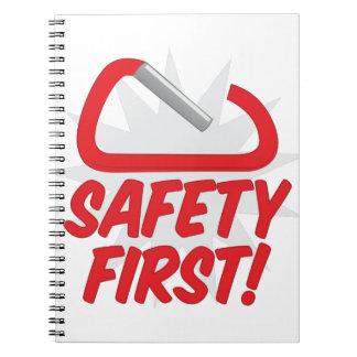 Safety First Notebook