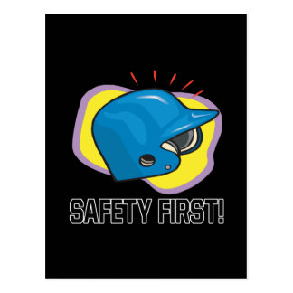 Safety First Postcard