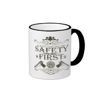 Safety First Ringer Coffee Mug
