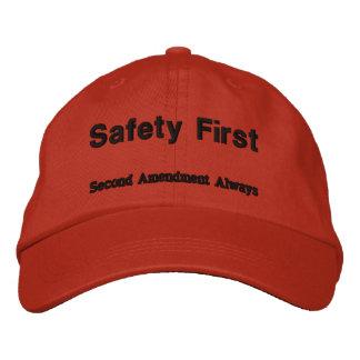 SAFETY FIRST- Second Amendment Always Baseball Cap