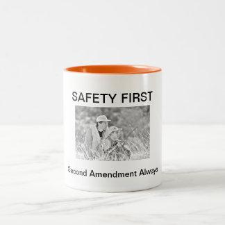 SAFETY FIRST- Second Amendment Always- Mug