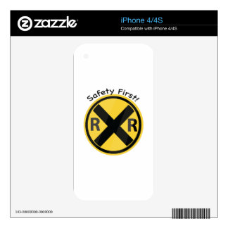Safety First Decals For iPhone 4S