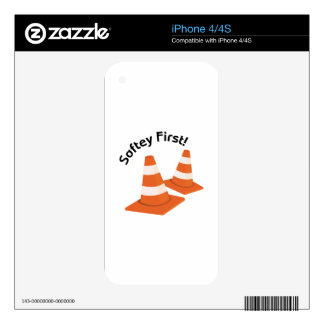 Safety First iPhone 4 Skins