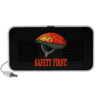 Safety First Portable Speakers
