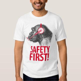 Safety First T Shirts Shirt Designs Zazzle