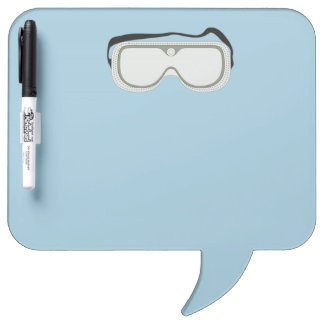 Safety Goggles Dry-Erase Board
