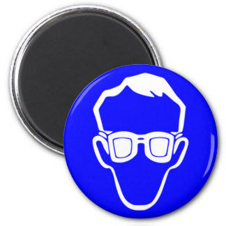 Safety goggles fridge magnets
