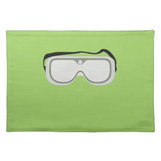 Safety Goggles Cloth Place Mat