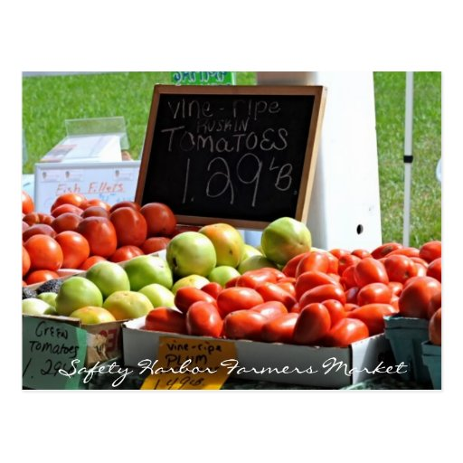 Safety Harbor Farmers Market Post Cards