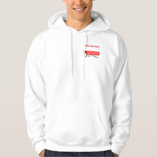 Safety Has No Quitting Time Custom Hoodie