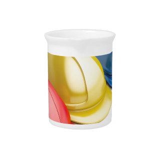 Safety helmets drink pitcher