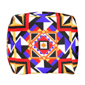 Safety In Syncopation Large Scale by KCS Pouf