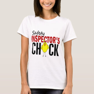 Safety Inspector's Chick T-Shirt
