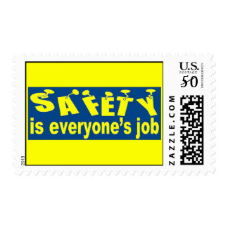 SAFETY is Everyone's Job Postage