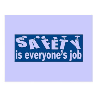 SAFETY is Everyone's Job Postcard