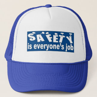 SAFETY is Everyone's Job Trucker Hat