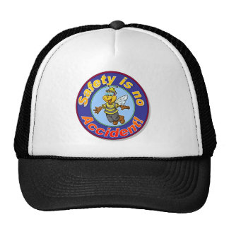 Safety is no accident. trucker hat