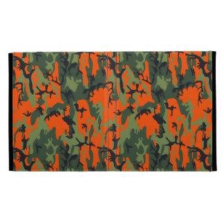 Safety Orange and Green Camo iPad Folio Cover