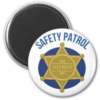 Safety Patrol 2 Inch Round Magnet