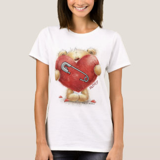 Safety Pin - Bear - Stronger Together T-Shirt