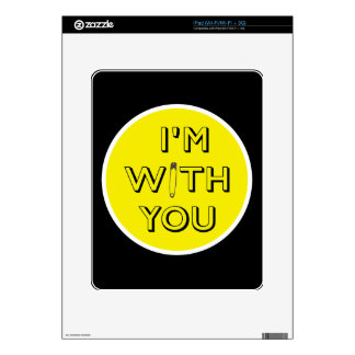 Safety Pin - I'm With You Skin For The iPad