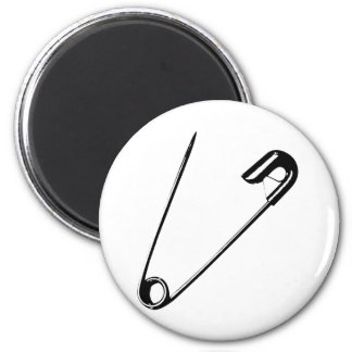 SAFETY PIN MAGNET