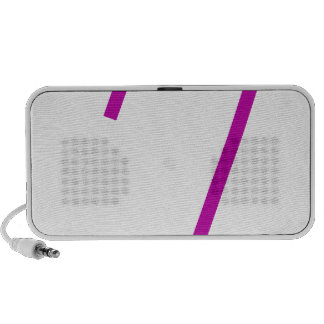 Safety Pin Purple Notebook Speakers