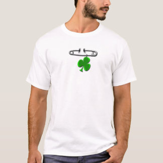 Safety Pin Shamrock T-Shirt