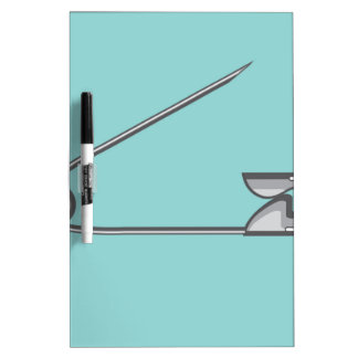 Safety Pin Vector Illustration Dry Erase Board