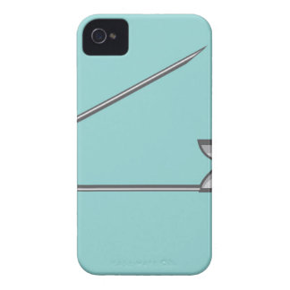 Safety Pin Vector Illustration iPhone 4 Cover