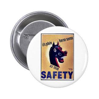 Safety Pinback Button