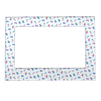 Safety Pins Magnetic Photo Frame