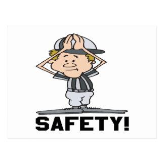 Safety Postcard