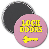Safety Reminder Lock Doors Magnet