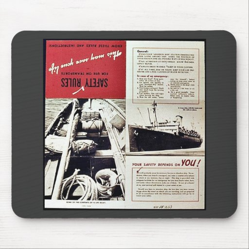 Safety Rules Mousepads