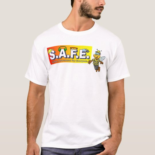 Safety Team T Shirts Front And Back Design