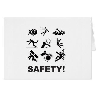 safety yeah card