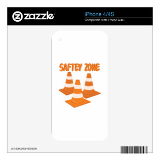 Safety Zone iPhone 4S Skins
