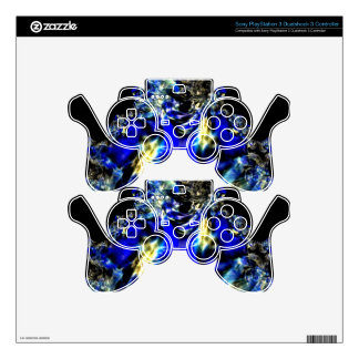 Saffires and Blue Satin.jpg Decal For PS3 Controller